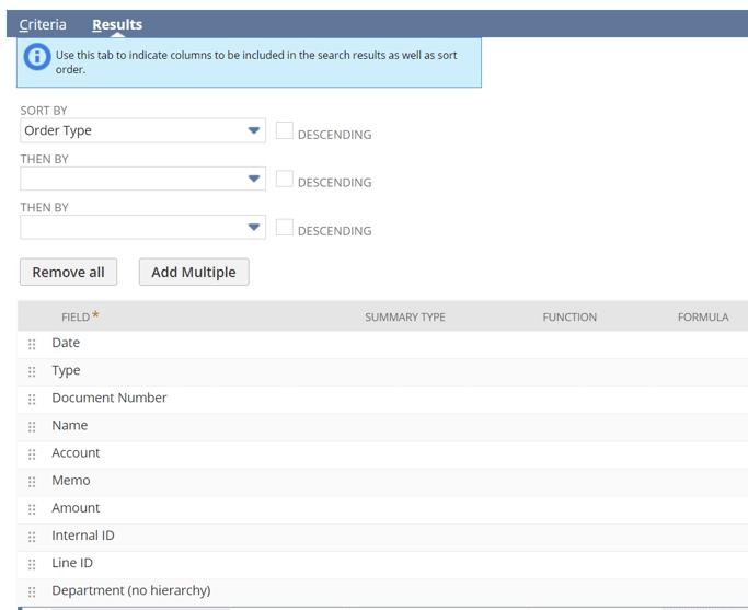 Use NetSuite CSV import templates to update segment coding